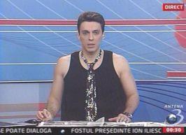 Mircea Badea îmbrăcat după ltima modă