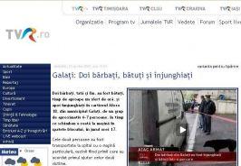 Ştirea, aşa cum a apărut pe tvr.ro