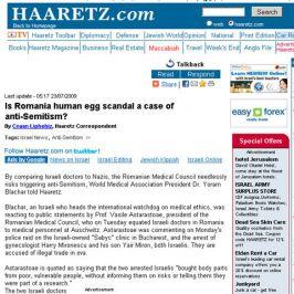 Cotidianul israelian Haaretz s-a făcut de antisemitism