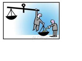 Justiţia cu taleri în talere