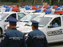 Şefii Poliţiei Galaţi s-au bucurat după modelul Geoană