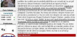 Mirella Aur a semnat astăzi încă un editorial de excepţie în Monitorul de Galaţi