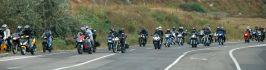În semn de protest, sute de motocicliști și-au dat întîlnire pe digul Galați-Brăila