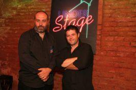 Radu Nichifor și Ion Sănduleac o ard Understage