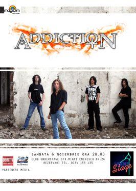 Cei de la Addiction din Brăila cîntă lucrătura Diavolului, adică rock