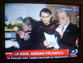 Pupincuristul Vadim nu putea lipsi de la funeraliile unui vechi camarad