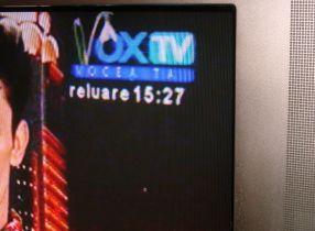 Vox TV, în poziția ghiocel