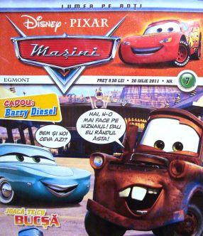 Deocamdată, eroii din revistele Disney discută aprins despre alcool