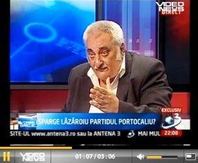 Bacalbașa, în emisiune la Ciutacu