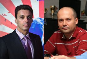 Radu Banciu (dreapta, evident) l-a atacat din nou dur pe Mircea Badea