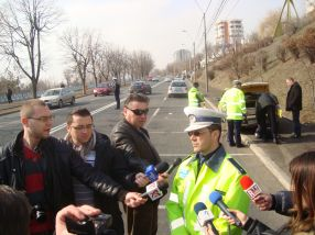 Subcomisarul Aurelian Ropotan de la Poliția Rutieră Galați