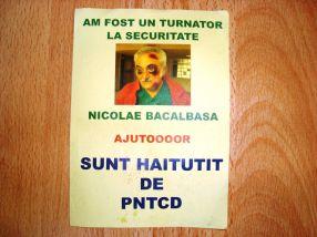 Bacalbașa, turnător la Securitate. Și Marian Popa de la PNȚCD, agramat pînă la moarte