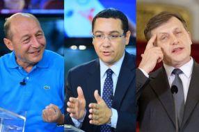 Băsescu, Ponta și Antonescu. Doi dintre ei vor dispărea din politică în viitorul apropiat