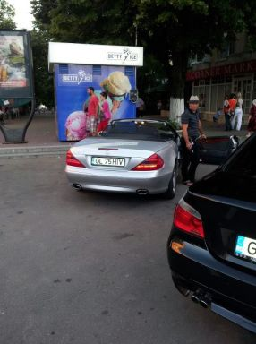 Mercedesul SL 500 a lui Ion Ijdileanu