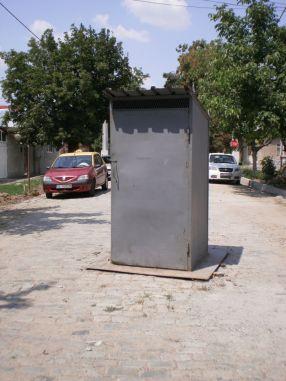 Prin grija Tancrad, asta este imaginea Galațiului în lume: orașul cu WC-uri în mijlocul străzii