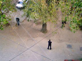 Deținuții închiriați de Ecosal sînt păziți de gardieni