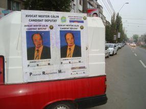 Dacă așa arată în pozele de campanie, prelucrate în Photoshop, vă dați seama ce față are Nestor Călin în realitate
