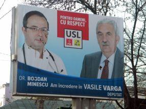 Vasile Varga și doctorul care îl susține au cam fost făcuți de căcat