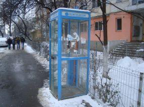 Mobilier urban inutil. Ar trebui demarat programul Rabla pentru cabinele telefonice Romtelecom