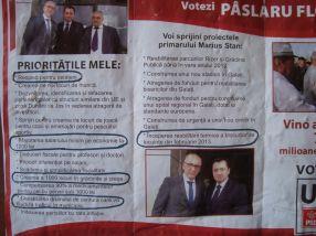 Luați aminte la vorbele deputatului Florin Pâslaru, că tare apăsat le mai zicea în campania electorală din 2012