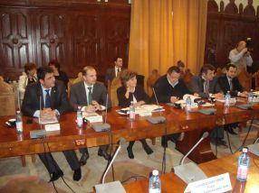 Șase dintre parlamentarii gălățeni care au venit degeaba la întîlnirea inutilă de la prefectură