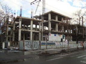 Noua Primărie Galați va fi ridicată pe scheletul de lîngă prefectură și nu va beneficia de nici un loc de parcare