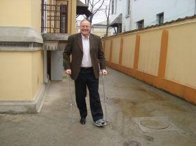 Mircea Toader pare că a luat multe bătăi la viața lui, să fie primit