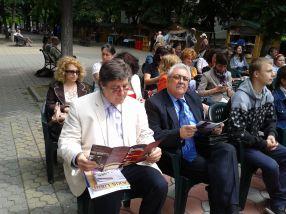 Nicolae Melinescu și Ilie Zanfir se culturalizează tot mai bine, de la an la an