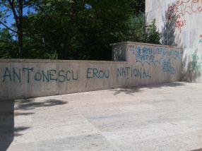 Graffiti în Galați: niște draci lipsiți de inspirație și talent