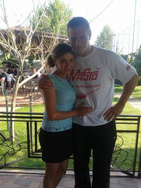 Soția lui Leif Larsen este o româncă originară din Timișoara