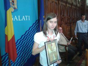 Andra Cosmina Albulescu, olimpica internațională de aur la Geografie
