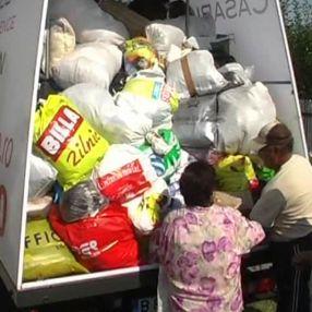 Gălățenii au început să doneze ajutoare pentru sinistrați