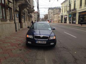 Dacă pe mașina ta scrie Tribunalul Galați ești un fel de Superman al parcărilor ilegale