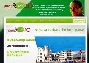 Buzz!Camp la Universitatea Danubius Galați