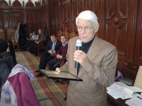 Fostul arbitru Nicolae Rainea a dat-o pe poezie la 80 de ani