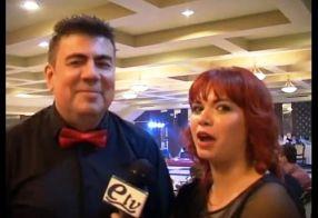 Cătălin Negoiță, intervievat de o reporteriță de la Express TV, la petrecerea de 15 ani
