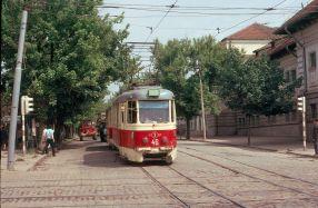 În sfîrșit, tramvaiele din Galați devin exponate de muzeu