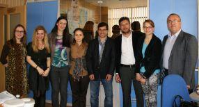 O nouă mobilitate de predare cu profesori turci la Universitatea Danubius