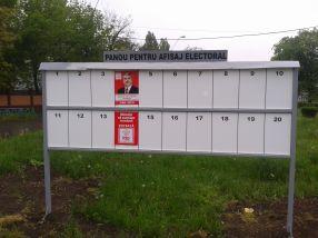 Dan Nica a ocupat două căsuțe din panoul electoral, căci el e șmecher de la PSD