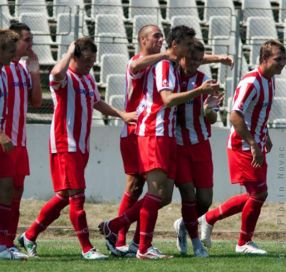 Un grup de fotbaliști aproape șomeri, care cu siguranță nu vor vota listele PSD