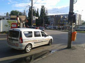 Poliția Rutieră Galați face ce știe mai bine: stă la pîndă