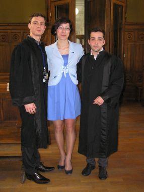 Adrian Chiper, Luiza Crihană și Andrei Lupu