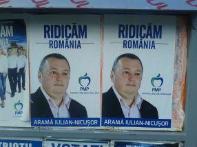 Candidatul Iulian Aramă, de la PMP Galați, dovedește că are multe idei tîmpite