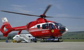 Elicopterul SMURD al Galațiului