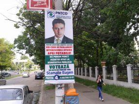 Minciuna odioasă a candidatului PNȚCD Galați, tînărul Eugen Stamate