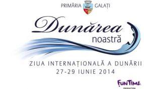 Ziua internațională a Dunării va fi marcată și la Galați