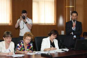 Cătălin Mustață, asistent- manager al proiectului privind calitatea în învăţământul superior pe filiera turism- mediu- cultură