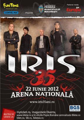 Firma Fun Time Production a întors portofelul la concertul aniversar al trupei Iris - 35 de ani