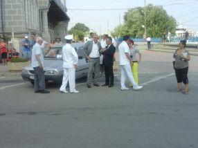 Marius Stan, un primar care se întreabă ce caută o Dacie la Ziua Marinei