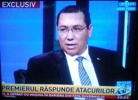 Victor Ponta nu scapă nici în America de limbile lui Mihai Gâdea și Mircea Badea